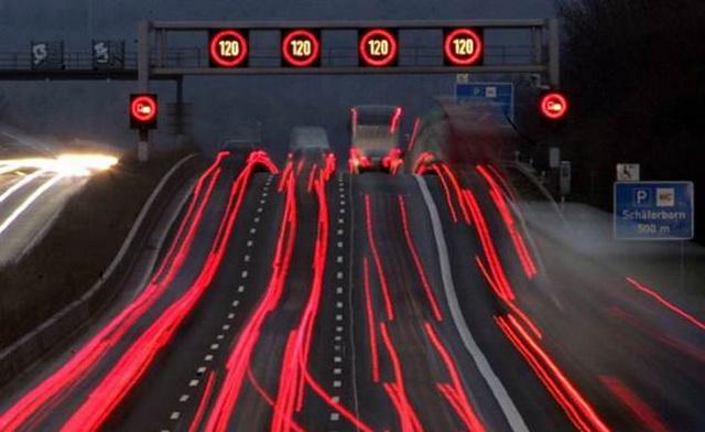 Дороги в Германии. Ограничение скорости на автобанах