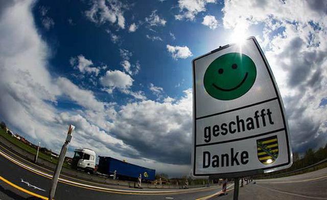 Дороги в Германии. Женский взгляд. Смайлик