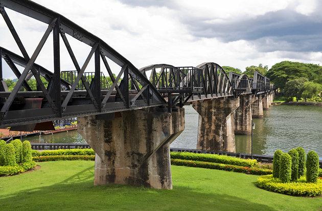 Канчанабури. Провинция и ее достопримечательности. Мост через реку Квай. Мост через реку Квай2