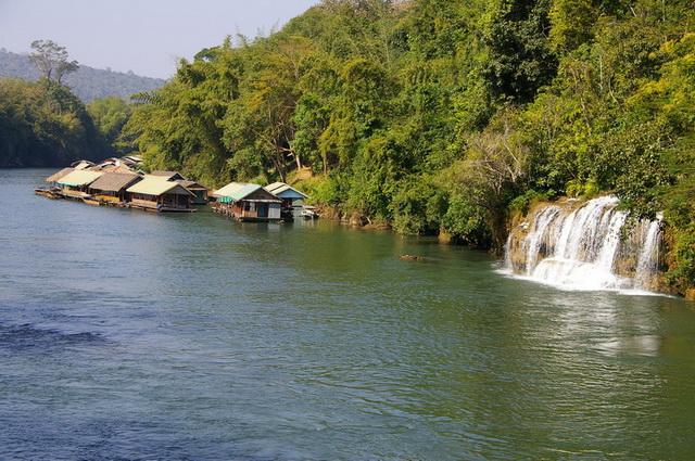 Канчанабури. Провинция и ее достопримечательности. Водопады Сай Йок Ной