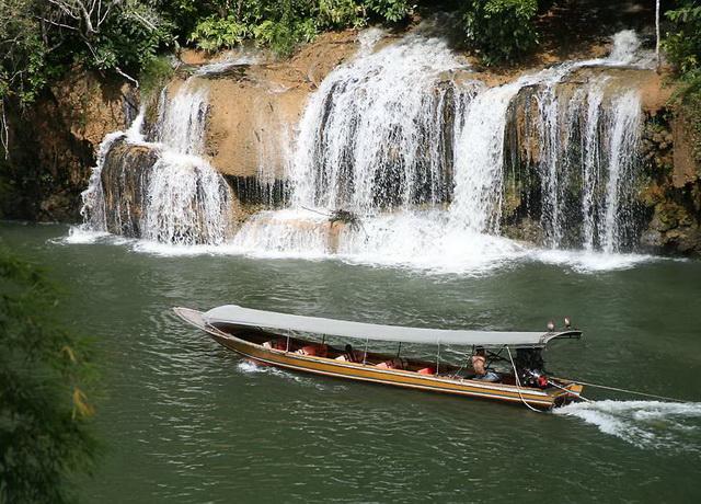 Канчанабури. Провинция и ее достопримечательности. Водопады Сай Йок Ной2