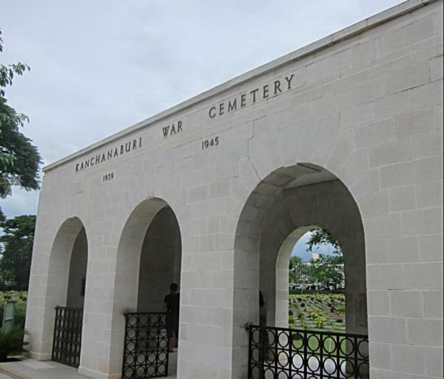 Канчанабури. Провинция и ее достопримечательности. Военное кладбище Канчанабури