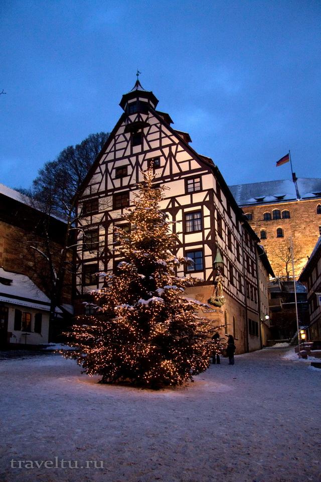 Куда поехать в Декабре На Рождество в Европу. Елка