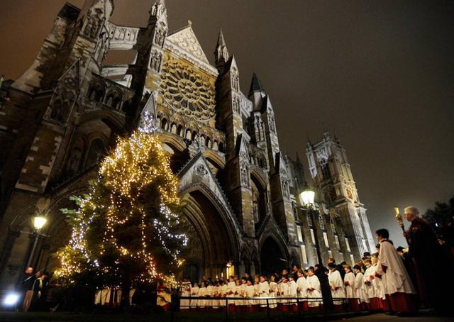 Куда поехать в Декабре На Рождество в Европу. Рождественский хор