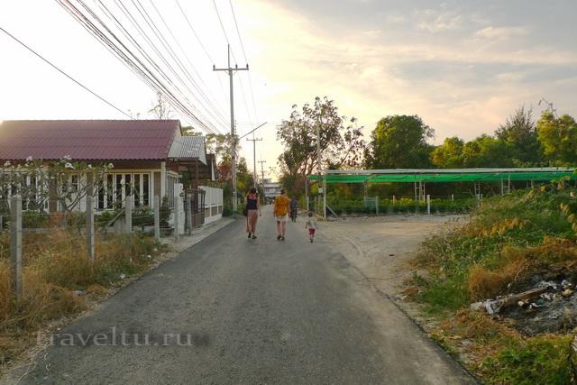 Курорты Тайланда. Ча-Ам дорога в город