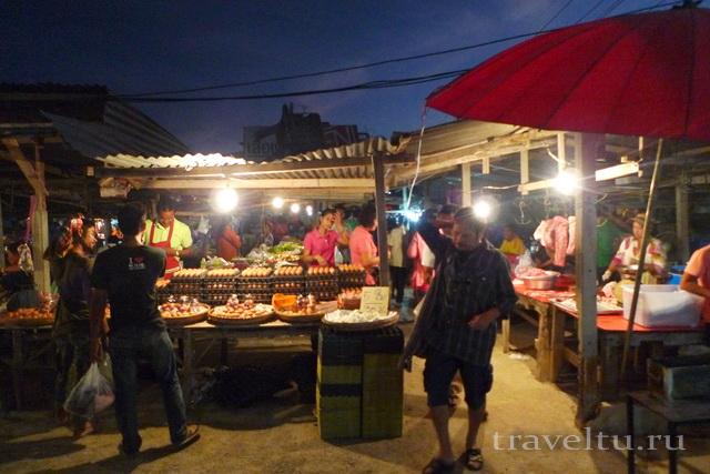 Курорты Тайланда. Ча-Ам рынок 9