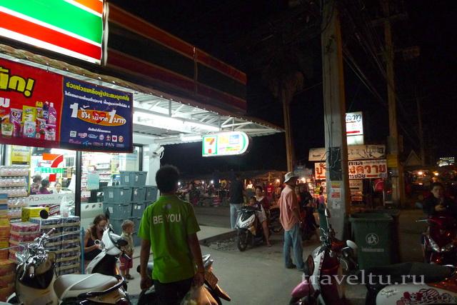 Курорты Тайланда. Ча-Ам севен элевен