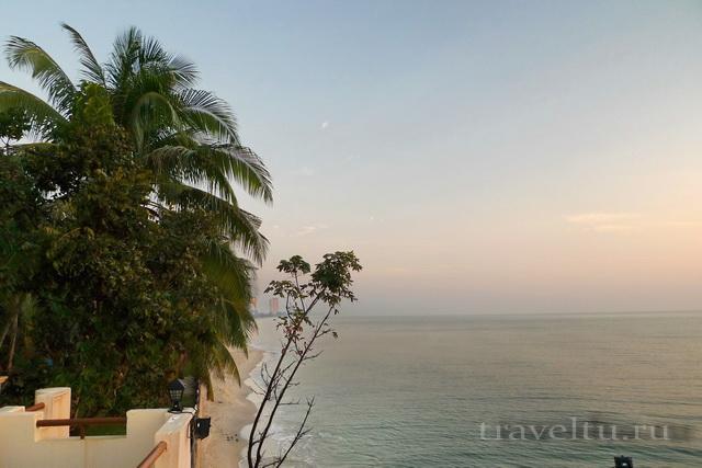Курорты Тайланда. Ча-Ам утро с площадки отеля