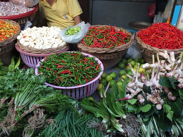 Курорты Тайланда. Ча-Ам. Рынок 1