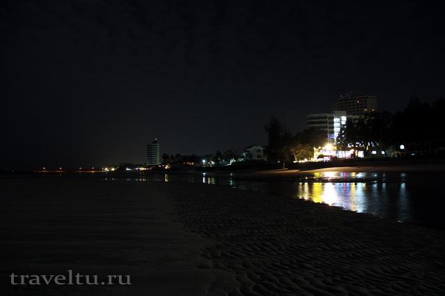 Курорты Тайланда. Пляж Ча Ама с моря