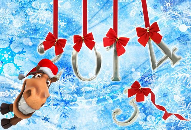 Наступил год Лошади. А когда же начнется тайский Новый год. Открытка