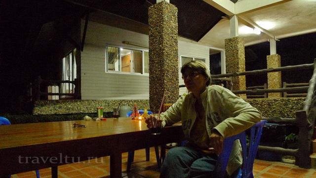 Таиланд. Национальный парк Эраван. Отзыв об отеле Галя Номер
