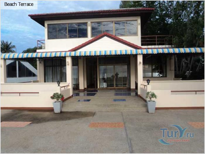 Отель в Ча-аме. Таиланд. Вид с террасы
