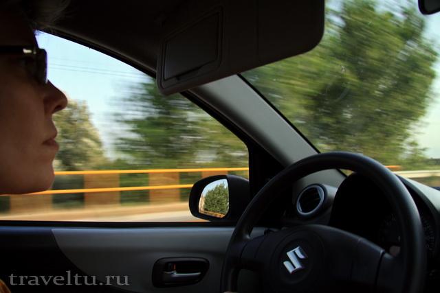 На машине по Греции. Дорога на Кассандру