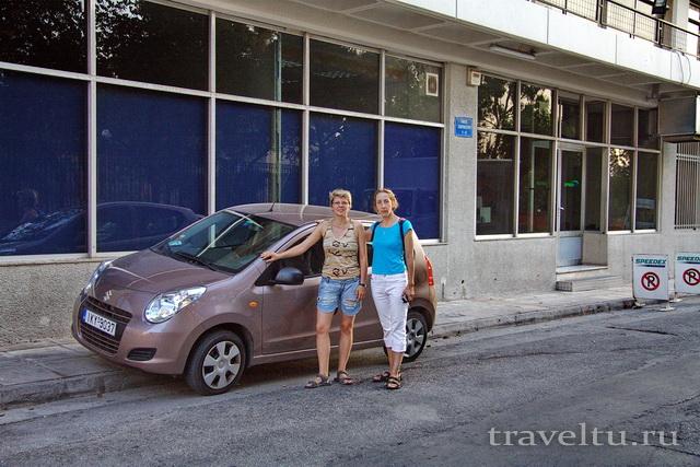 На машине по Греции. Аренда машины в Греции.