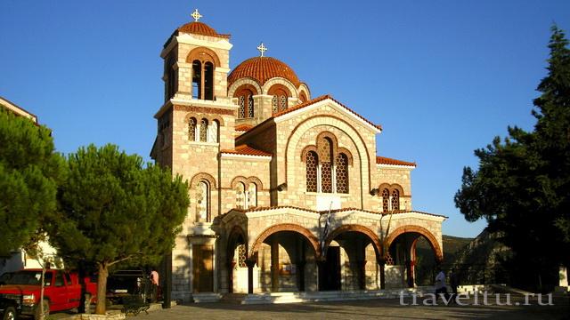 Церковь святого Николая в Дельфах