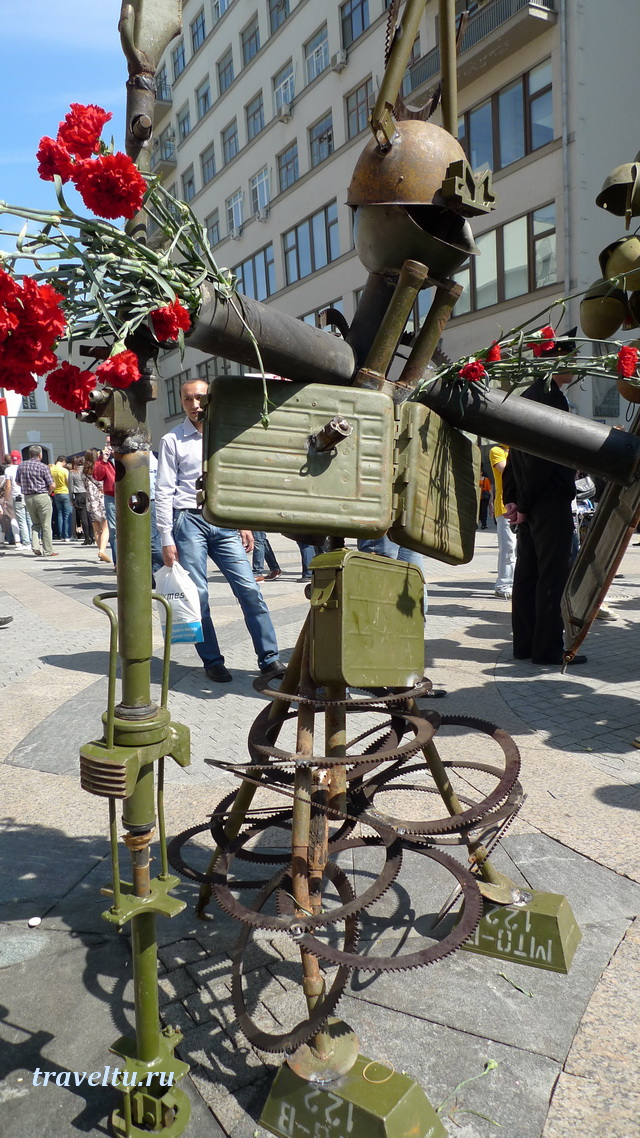 Скульптура День Победы