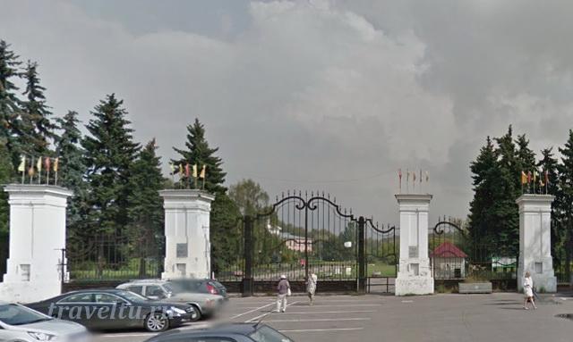 Ботанический сад. Вход со стороны Владыкино