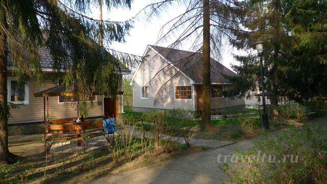 Дом отдыха в Тарусе коттеджи
