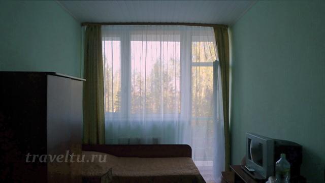 Дом отдыха в Тарусе номер с балконом