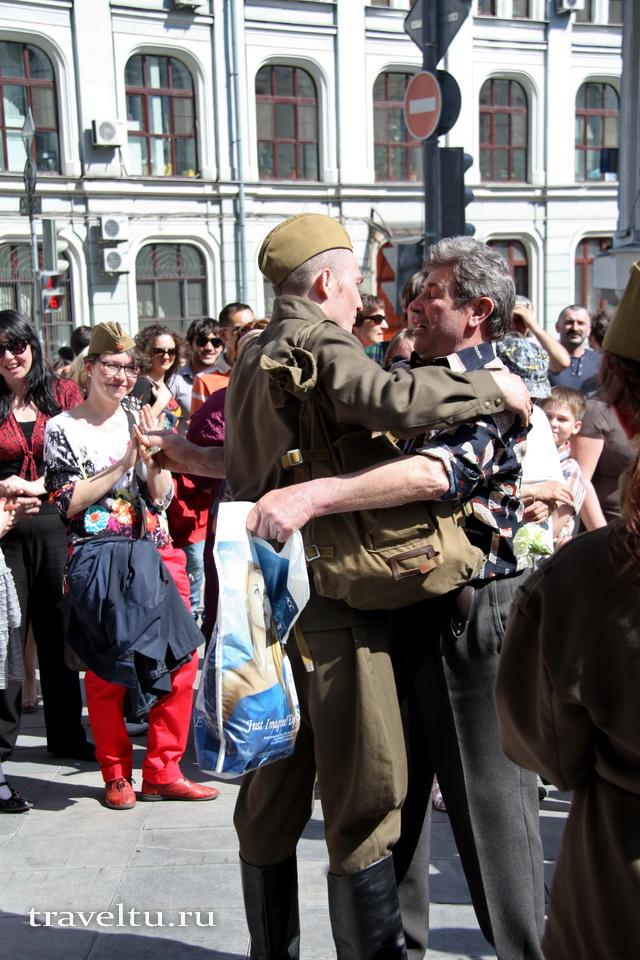 Праздник 9 мая в Москве
