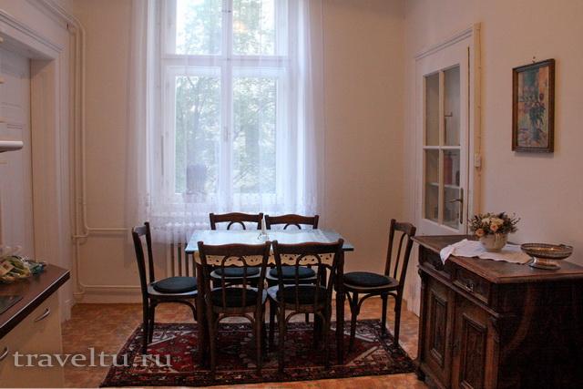 Кухня в Antik Apartments Брно