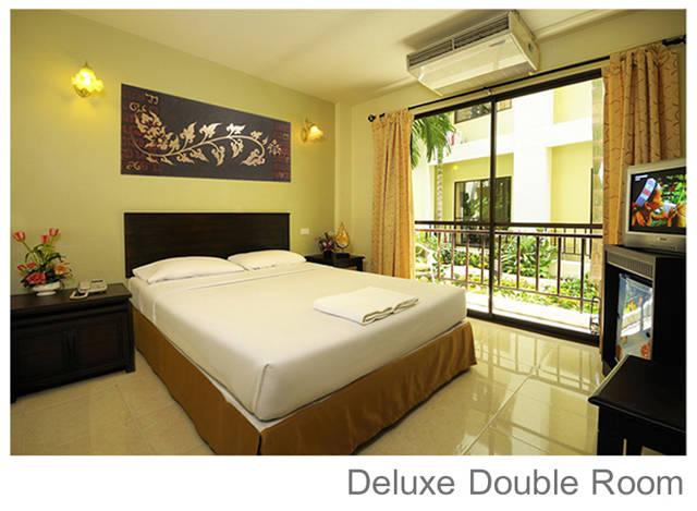 Отель Rambuttri Village Deluxe double room