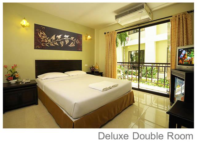 Отель Rambuttri Village Deluxe double room
