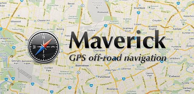 Maverick GPS навигатор
