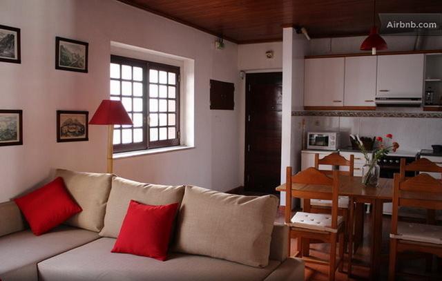 Casas da Biquinha Апартаменты Seteais в Синтра. Гостиная