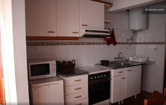 Casas da Biquinha Апартаменты Seteais в Синтра. Кухня