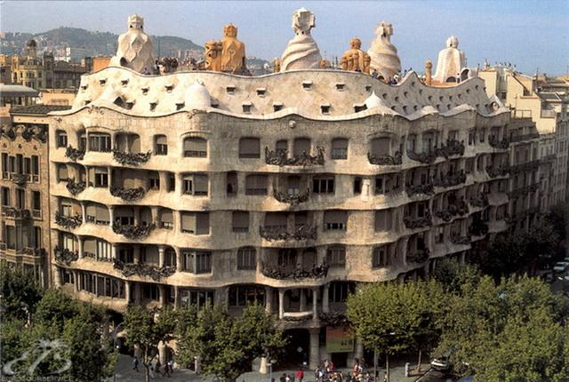 Дом Мила Гауди Барселона