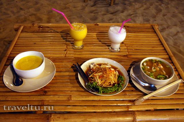 Где поесть на пляже Ко Чанга Чайчет бич