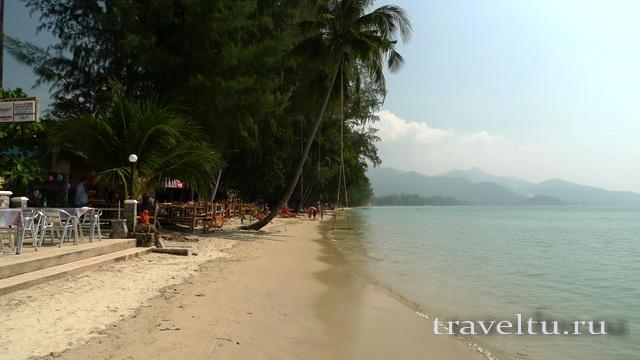Ко Чанг пляж Чайчет общий вид