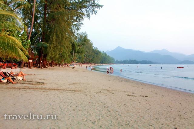 Лучший пляж острова Ко Чанг Чайчет