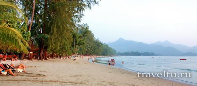 Лучший пляж острова Ко Чанг Chaichet