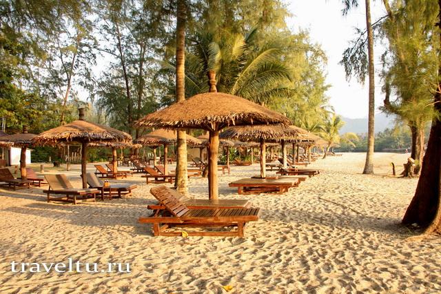 Пляж Чайчет на остров Ко Чанг