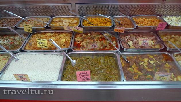 Сколько стоит еда в Испании