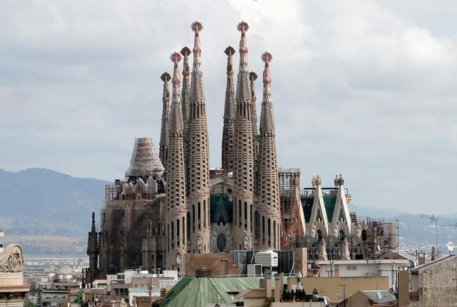 Собор Святого Семейства. Sagrada Familia