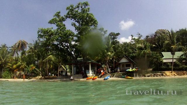 Аренда каяков на пляже Kai Bae