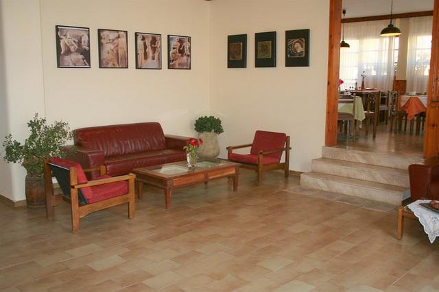 Холл в отеле Геркулес Олимпия