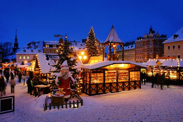 Рождество в Германии Ярмарки