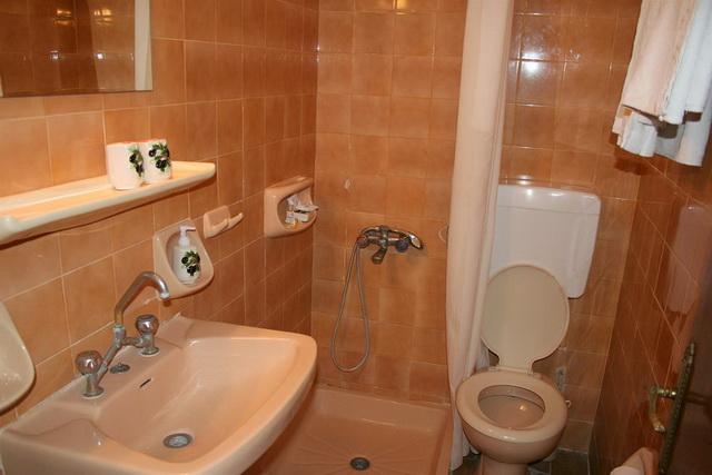 Ванная комната отель Геркулес Олимпия