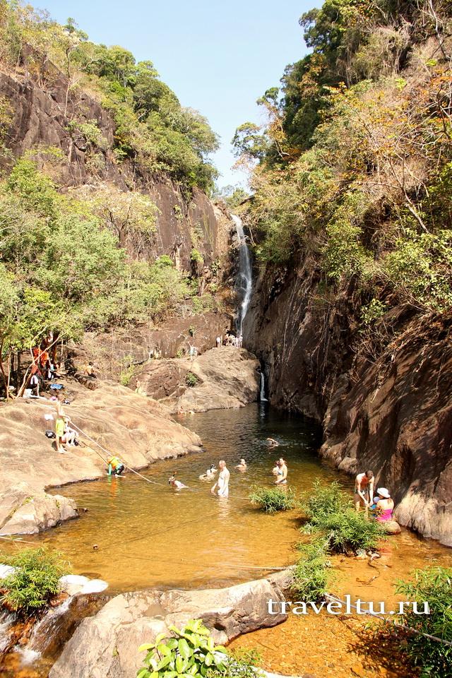 Водопад Klong Pru Ко Чанг