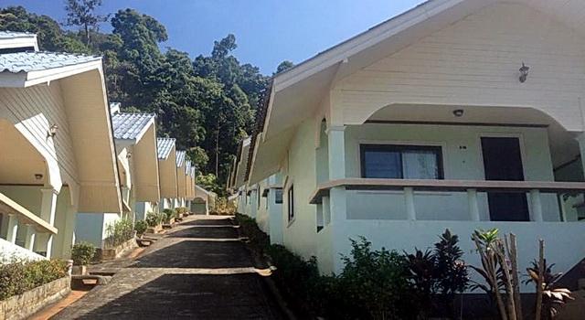 Бунгало в отеле Pengwan Resort & Restaurant
