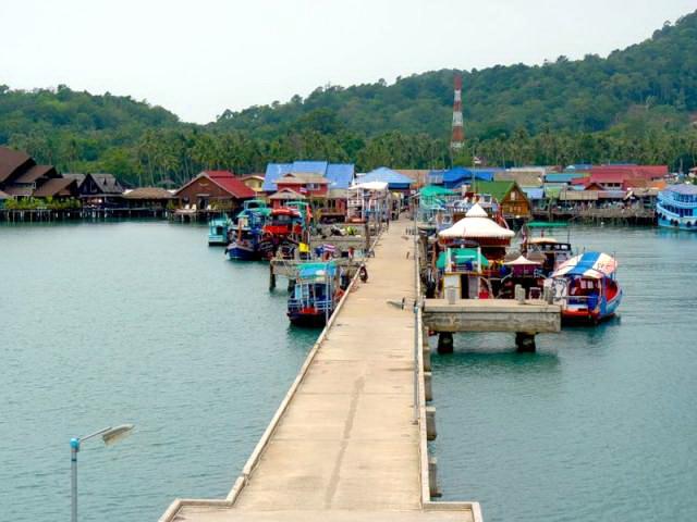 Рыбацкая деревня Банг Бао Ко Чанг