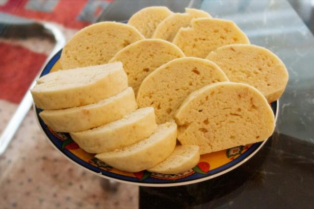 Хлебные кнедлики