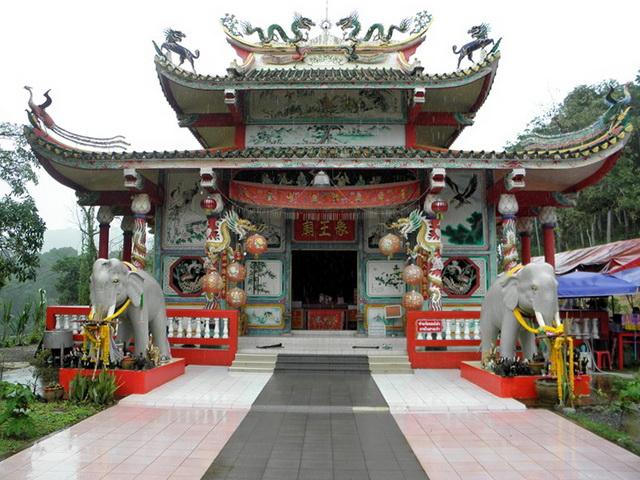 Китайский храм на Ко Чанге
