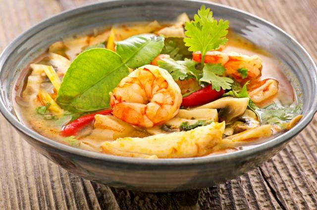 Суп Том Ям Кунгс креветками