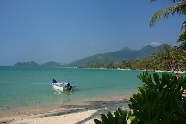 Пляж klong Prao beach Южная часть